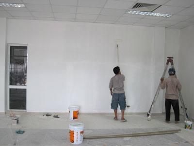 Thi công sơn sửa nhà ở uy tín tại TPHCM