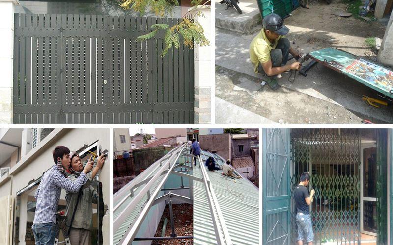 Chuyên nhận sửa chữa cửa sắt tại TPHCM
