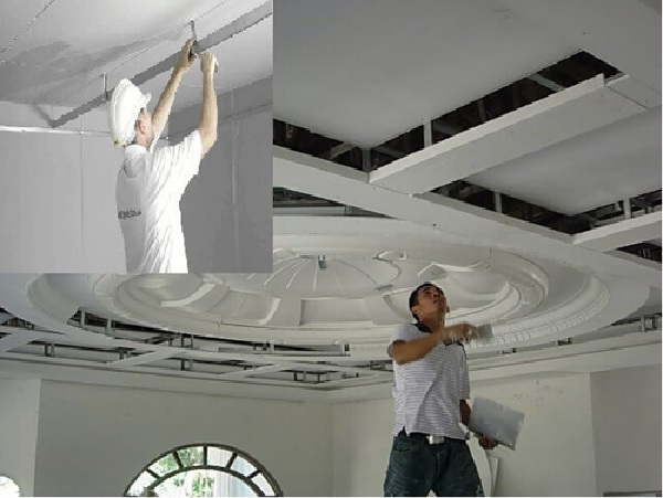 Khắc phục, sửa chữa trần thạch cao