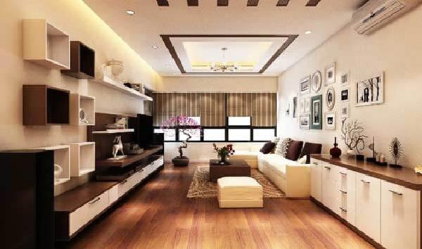 Trần thạch cao được thiết kế đa dạng phù hợp với nhiều kiến trúc khác nhau