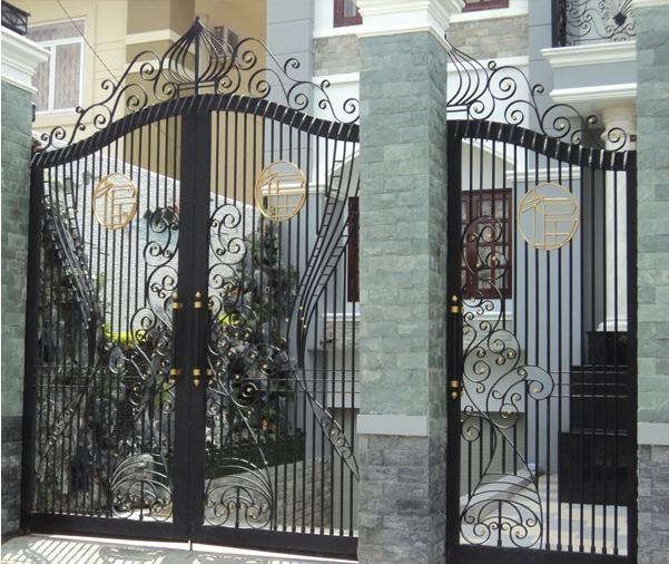 cửa sắt nghệ thuật mỹ thuật đẹp
