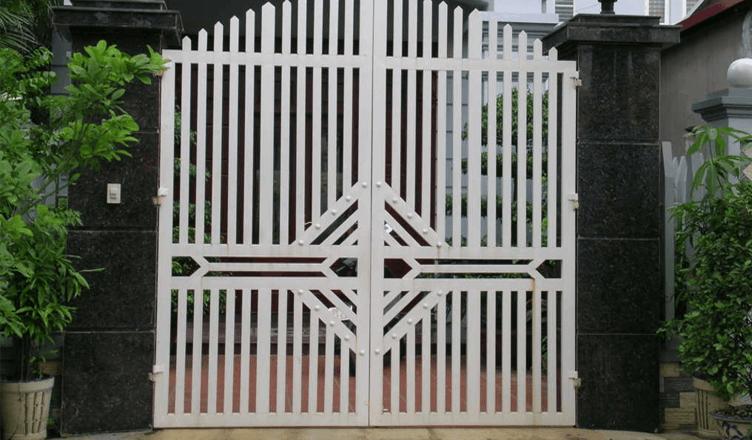 Các loại cửa sắt được nhiều người sử dụng