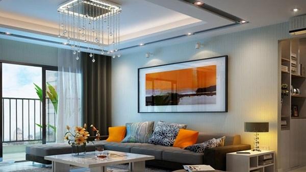 Trần thạch cao giúp tăng tính thẩm mỹ cho không gian nhà ở