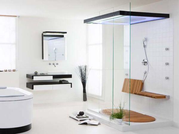 Có nên làm vách kính phòng tắm hay không?